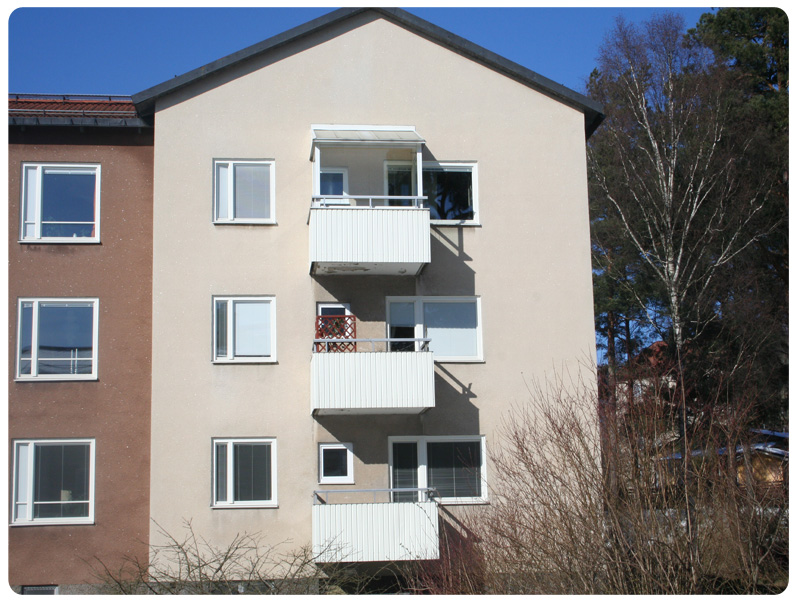 Fasad, gaveln DW40