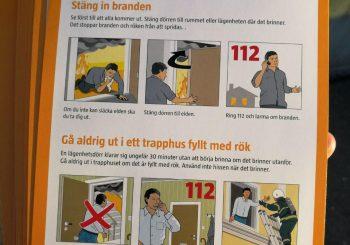 INFORMATION FRÅN AKTIV MOT BRAND / MSB